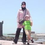 Amal and ahmad in essaouira
